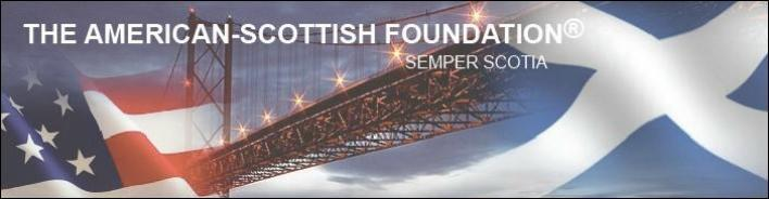 American Scottish Foundation Site Banner